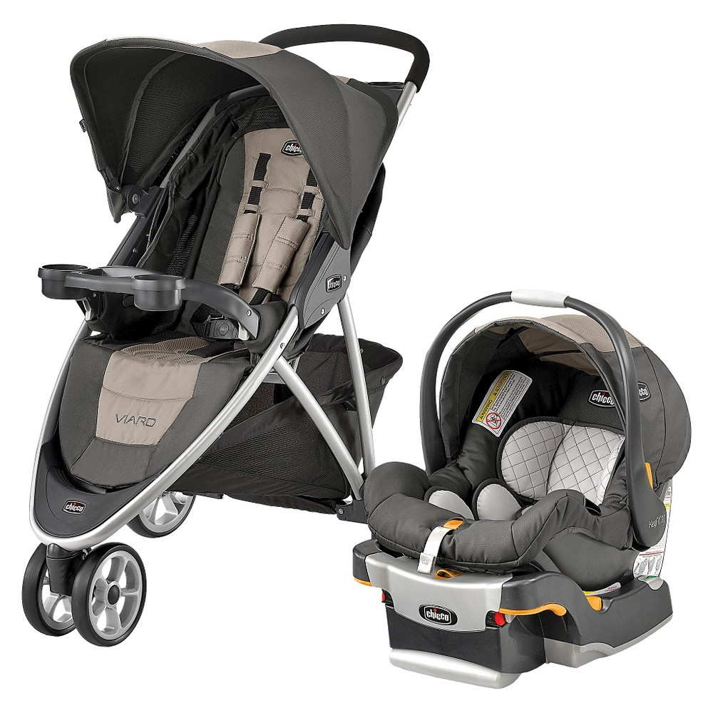 Chicco Viaro Travel System - Teak (Brown)