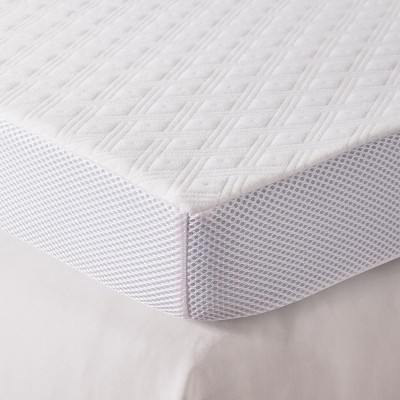 3  Serene Foam Mattress Topper (Queen)White - Fieldcrest®