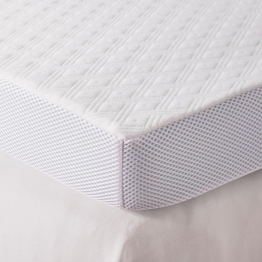 3 Serene Foam Mattress Topper (Queen) White - Fieldcrest