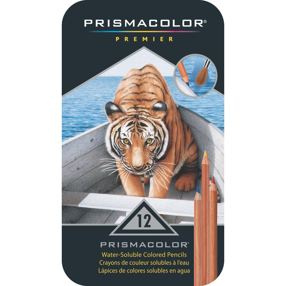 Image of Prismacolor Premier 12ct Water Soluble Colored Pencils