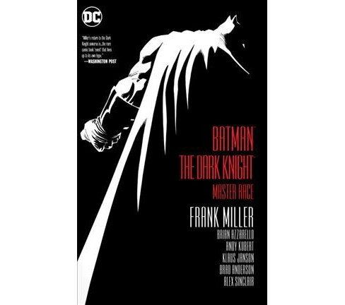 Batman The Dark Knight : Master Race -  by Frank Miller & Brian Azzarello (Hardcover) - image 1 of 1