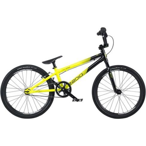 "Radio Raceline Cobalt 20"" Expert Complete BMX Bike 19.5"" Top Tube Black/Yellow - image 1 of 4"