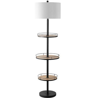 Bello Floor Lamp - Matte Black - Safavieh