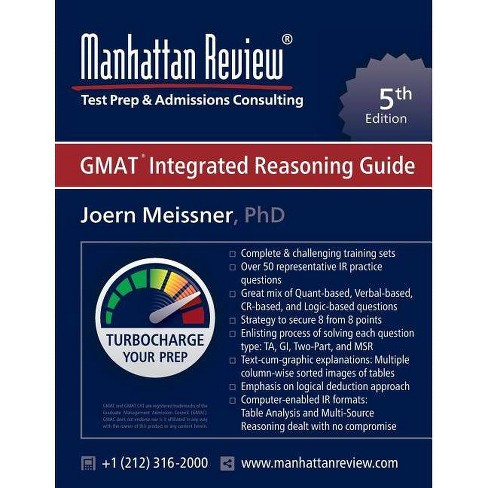 Manhattan Review GMAT Integrated Reasoning Guide - by Joern Meissner  (Paperback)