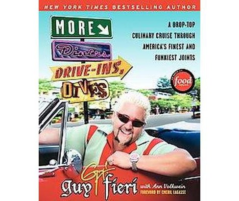 More Diners, Drive-Ins and Dives (Original) (Paperback) by Guy Fieri - image 1 of 1