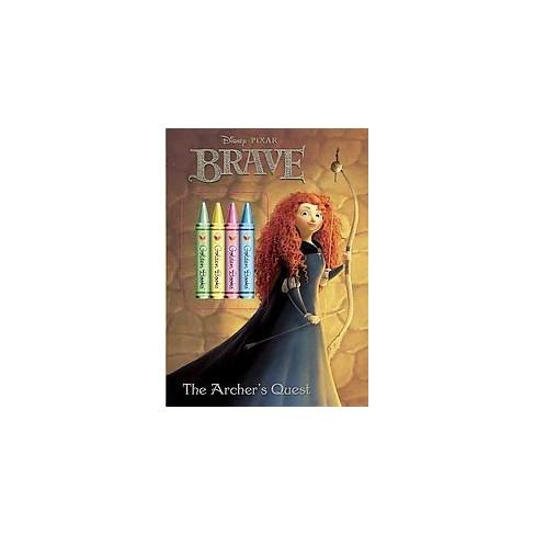 Brave Chunky Crayon Book (Disney/Pixar Brave) (Illustrator)(Paperback) by Cynthia Hands & RH Disney - image 1 of 1