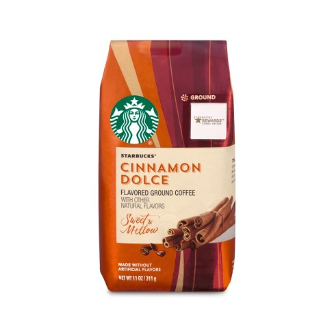 Starbucks Cinnamon Dolce Flavored Blonde Light Roast Ground Coffee - 11oz - image 1 of 3