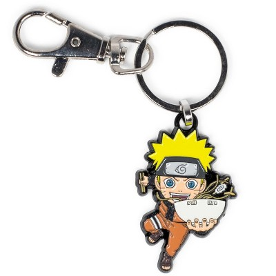 SalesOne LLC Naruto Uzumaki With Ramen Bowl Enamel Pendant Keychain   Toynk Exclusive