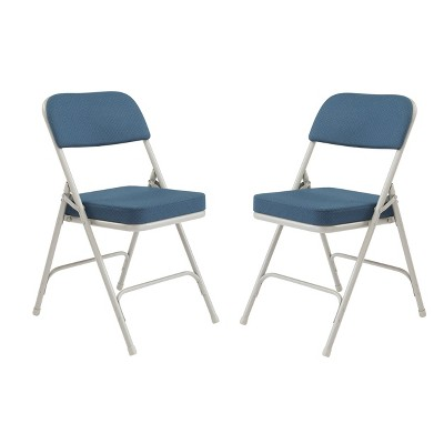 Set of 2 Premium Padded Folding Chairs - Hampton Collection