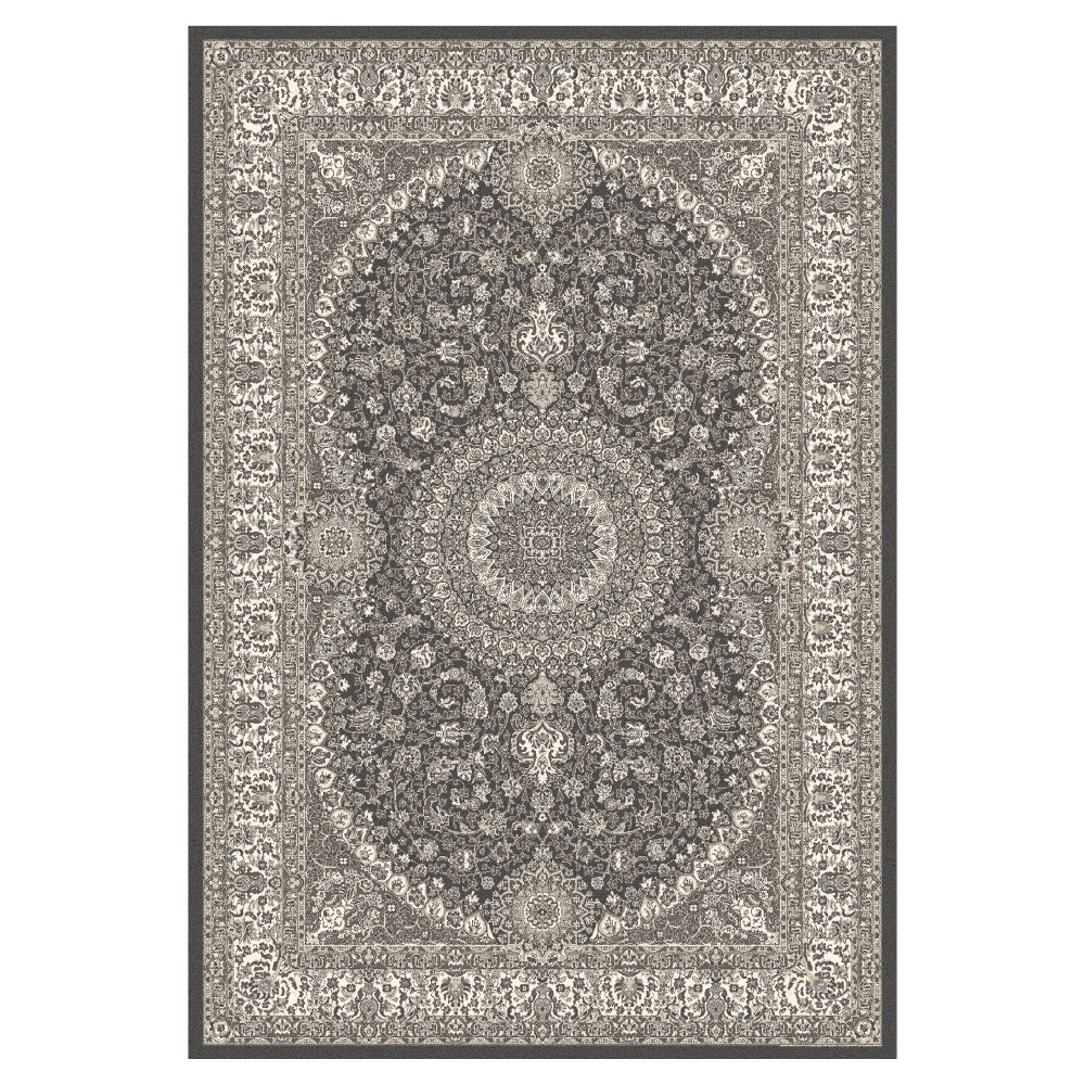 Gray Classic Woven Area Rug - (5'X8') - Art Carpet