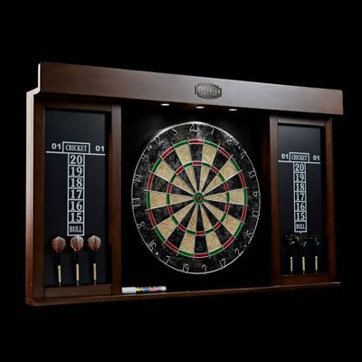 """Thornton 40"""" Dart Board Cabinet with LED Lights"""