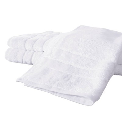 3pc Rayon from Bamboo Hand Towel Set White - Cariloha