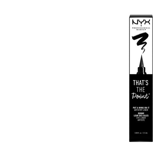 NYX Professional Makeup That's The Point Eyeliner Put A Wing On It - image 1 of 3