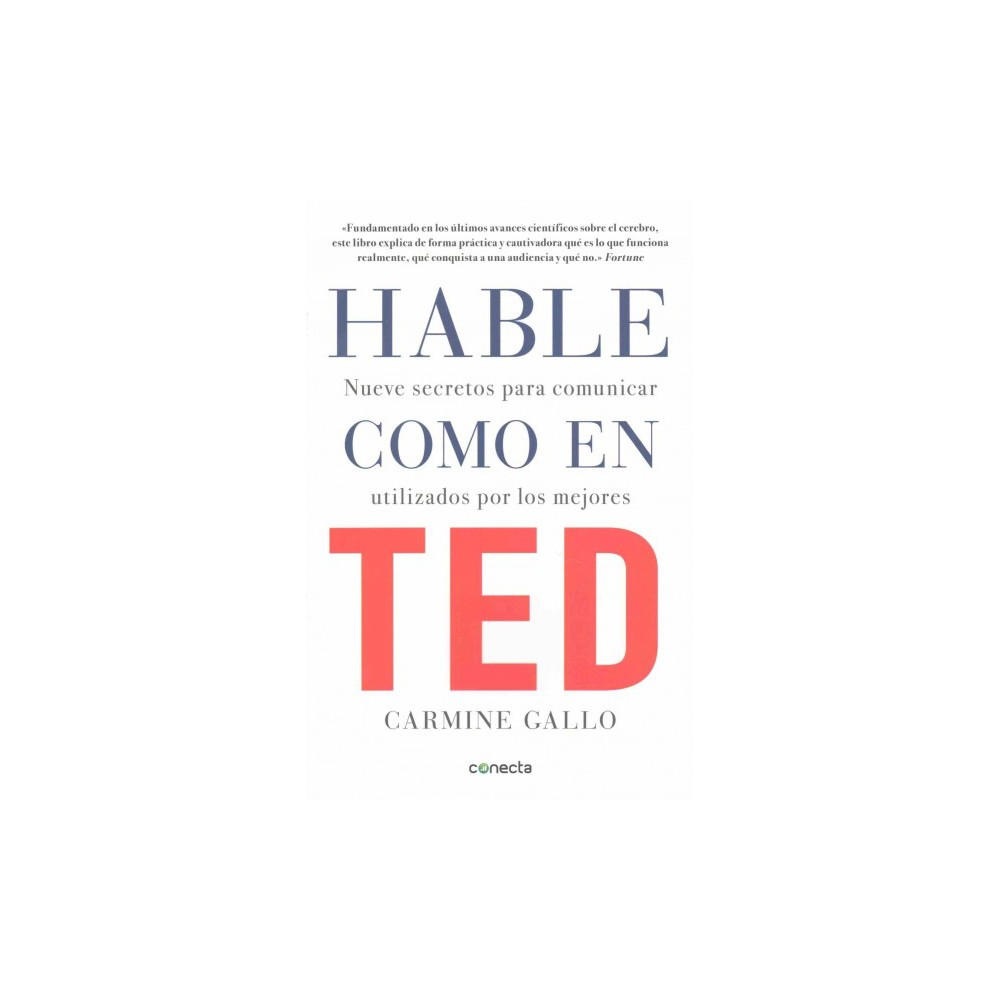 Hable como en Ted / Talk Like Ted (Paperback) (Carmine Gallo)