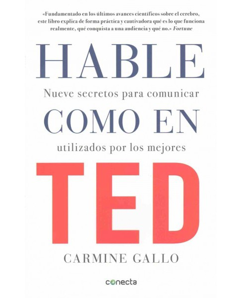 Hable como en TED / Talk Like TED (Paperback) (Carmine Gallo) - image 1 of 1