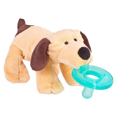WubbaNub® Puppy Pacifier - Light Brown