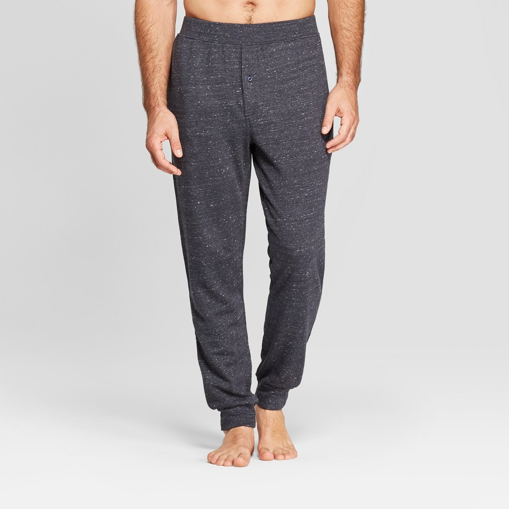 Men's French Terry Jogger Pajama Pants - Goodfellow & Co Navy (Blue) 2XL