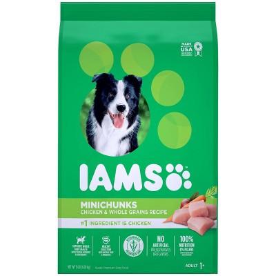Iams Proactive Health Minichunks Chicken & Whole Grains Recipe Adult Premium Dry Dog Food