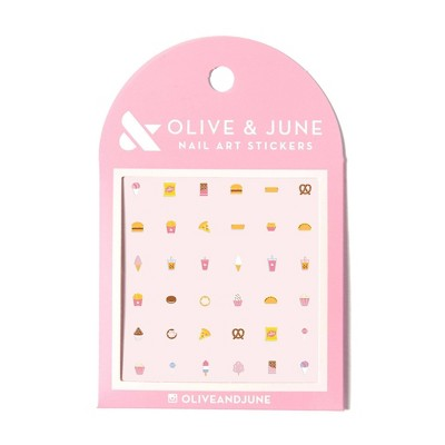 Olive & June Nail Art Kit - Snack Time - 36ct
