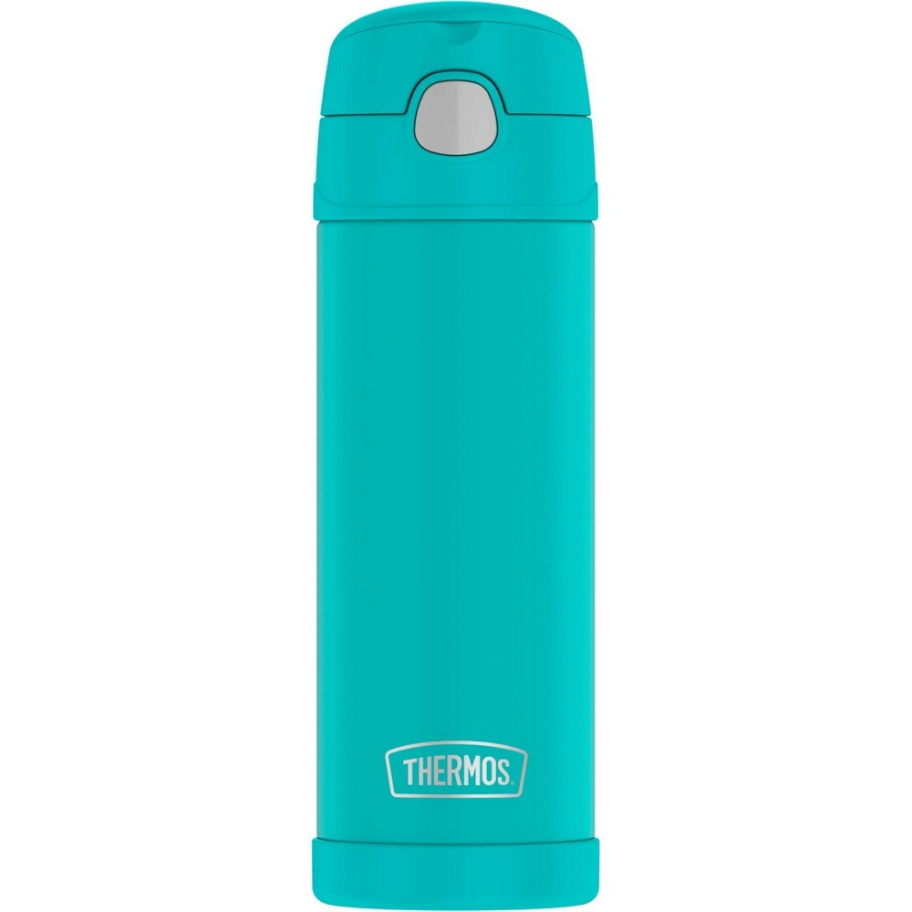 Thermos 16oz FUNtainer Water Bottle with Spout Aqua