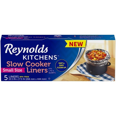Reynolds Small Size Slow Cooker Liner - 5ct
