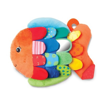 Melissa & Doug® Flip Fish Soft Baby Toy