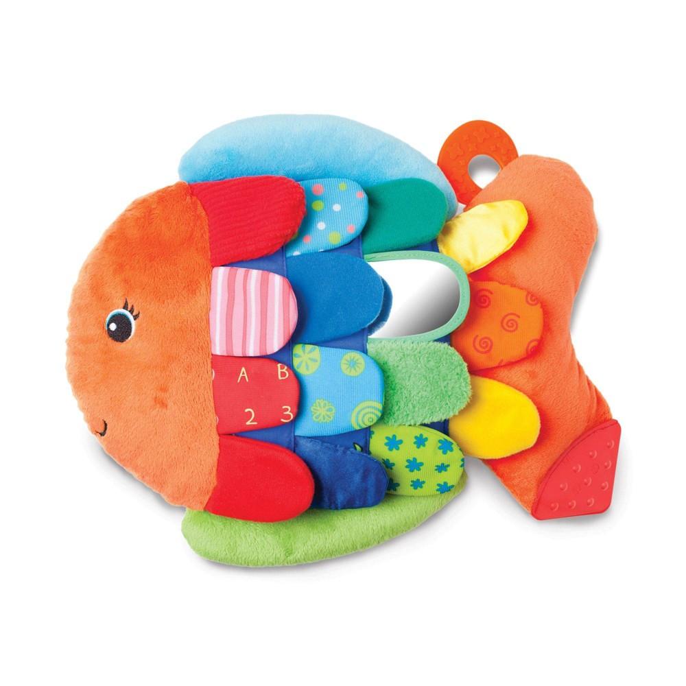 Melissa 38 Doug Flip Fish Soft Baby Toy