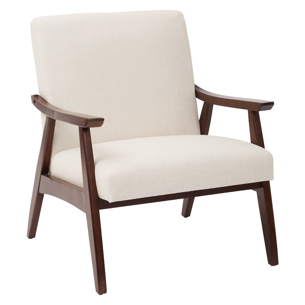 Davis Upholstered Armchair Linen - Osp Home Furnishings