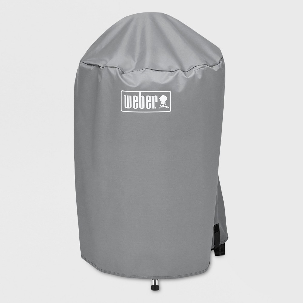 Weber 18 Value Charcoal Grill Cover, Gray 51335153