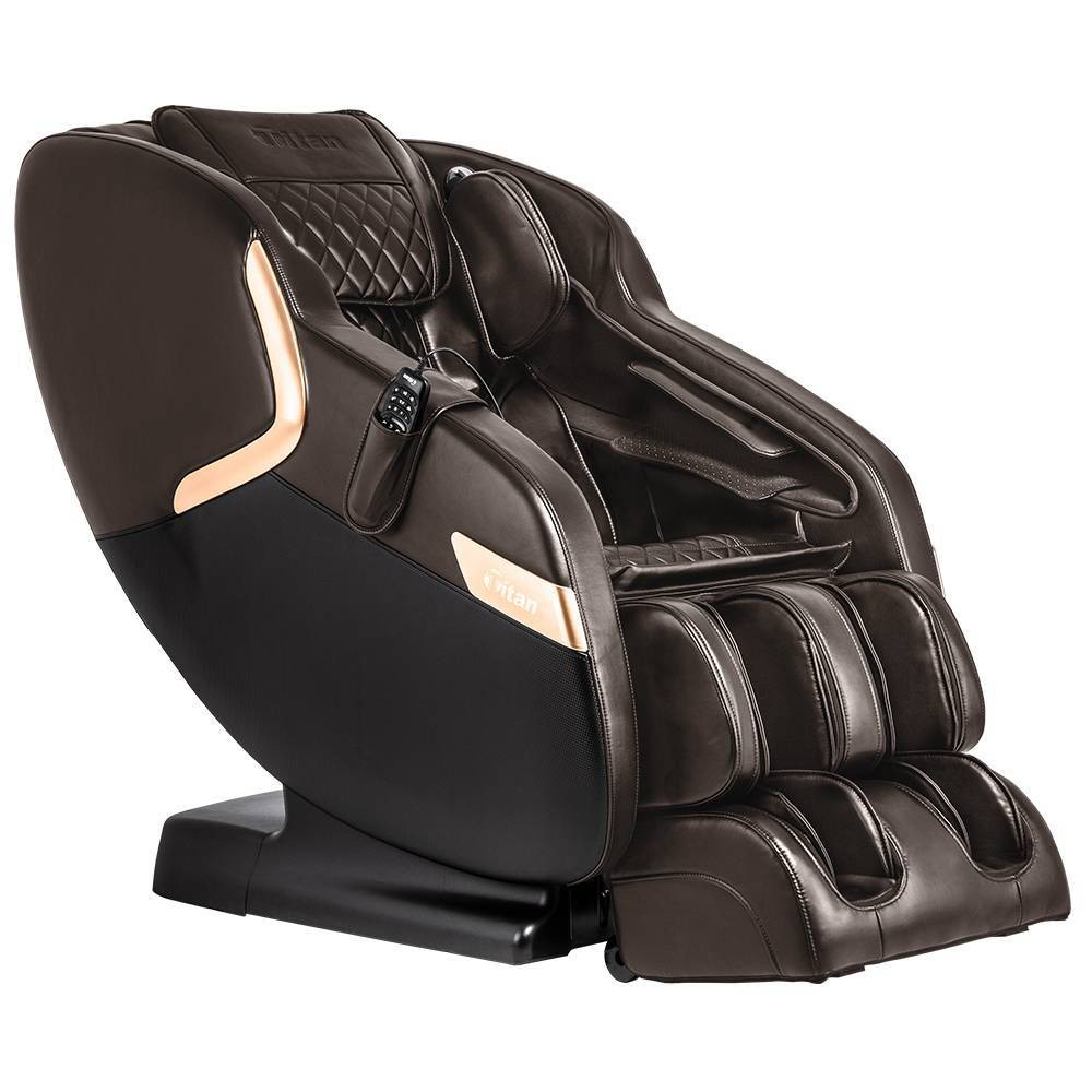 Image of Titan Luca V Massage Chair Brown - Titan