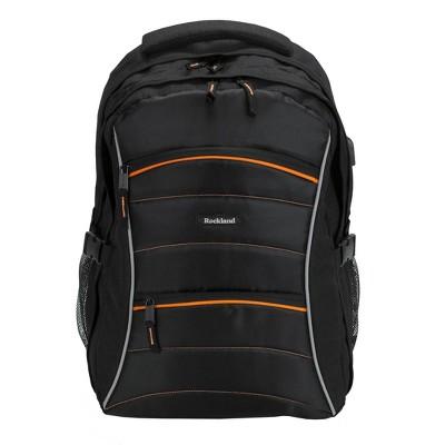 Rockland 19'' Smart Gear USB Laptop Backpack - Black