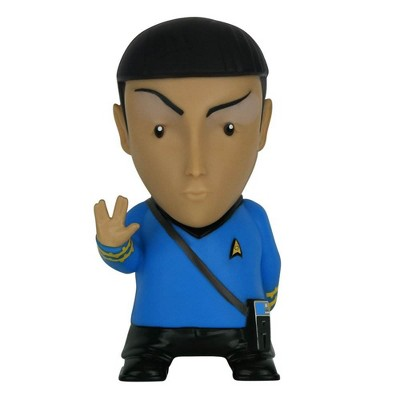 Fametek Star Trek Mr. Spock 6-Inch Mobile Wireless Bluetooth Speaker w/ 9 Quotes