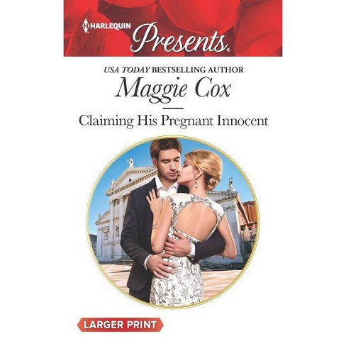 Claiming His Pregnant Innocent - (Harlequin Presents Large Print) by  Maggie Cox (Paperback) - image 1 of 1