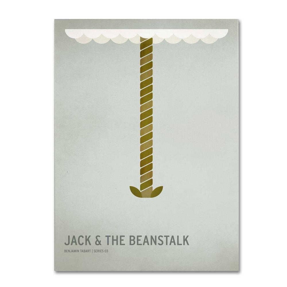 16 34 X 24 34 Jack And The Beanstalk By Christian Jackson Trademark Fine Art