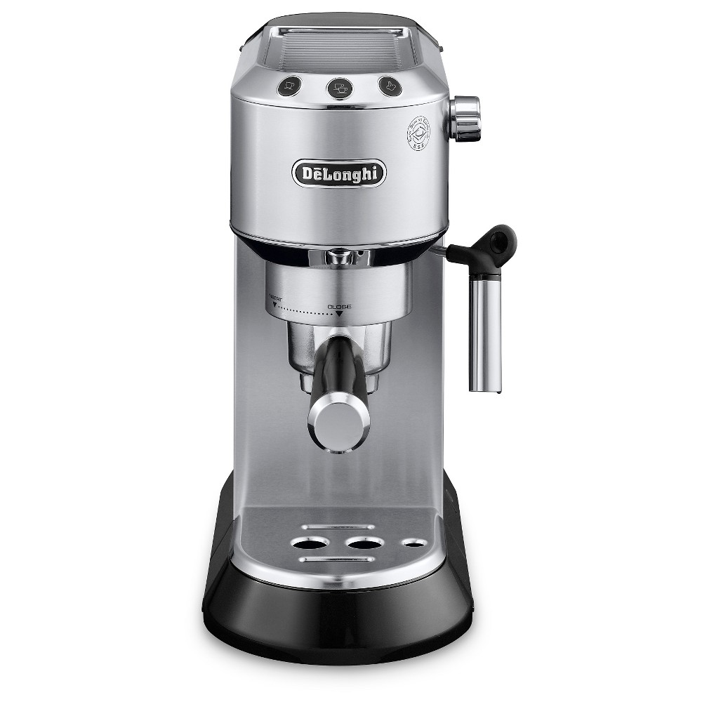 Delonghi Pump Espresso Maker – Stainless Steel (Silver) 51168364