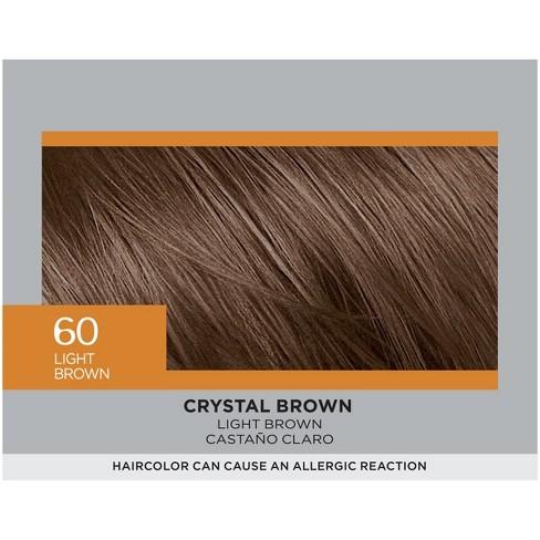 L'Oreal Paris Feria Multi-Faceted Shimmering Color - 60 Light Brown - 1 Kit