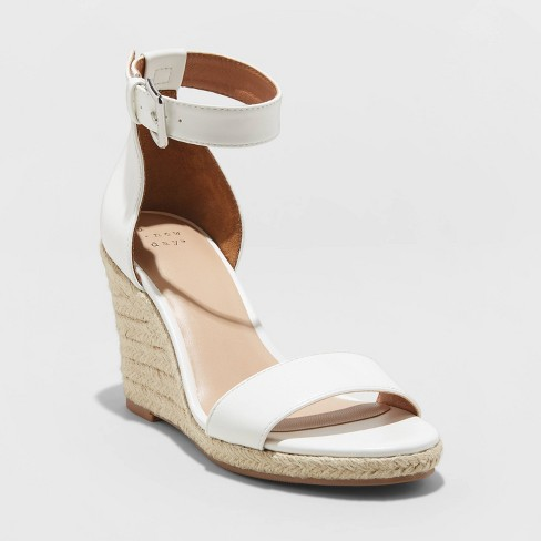 Women's Lola Espadrille Wedges - A New Day™ - image 1 of 3