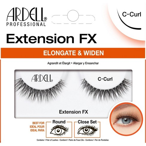 Ardell False Eyelashes Extension FX C-Curl - 1pr - image 1 of 3
