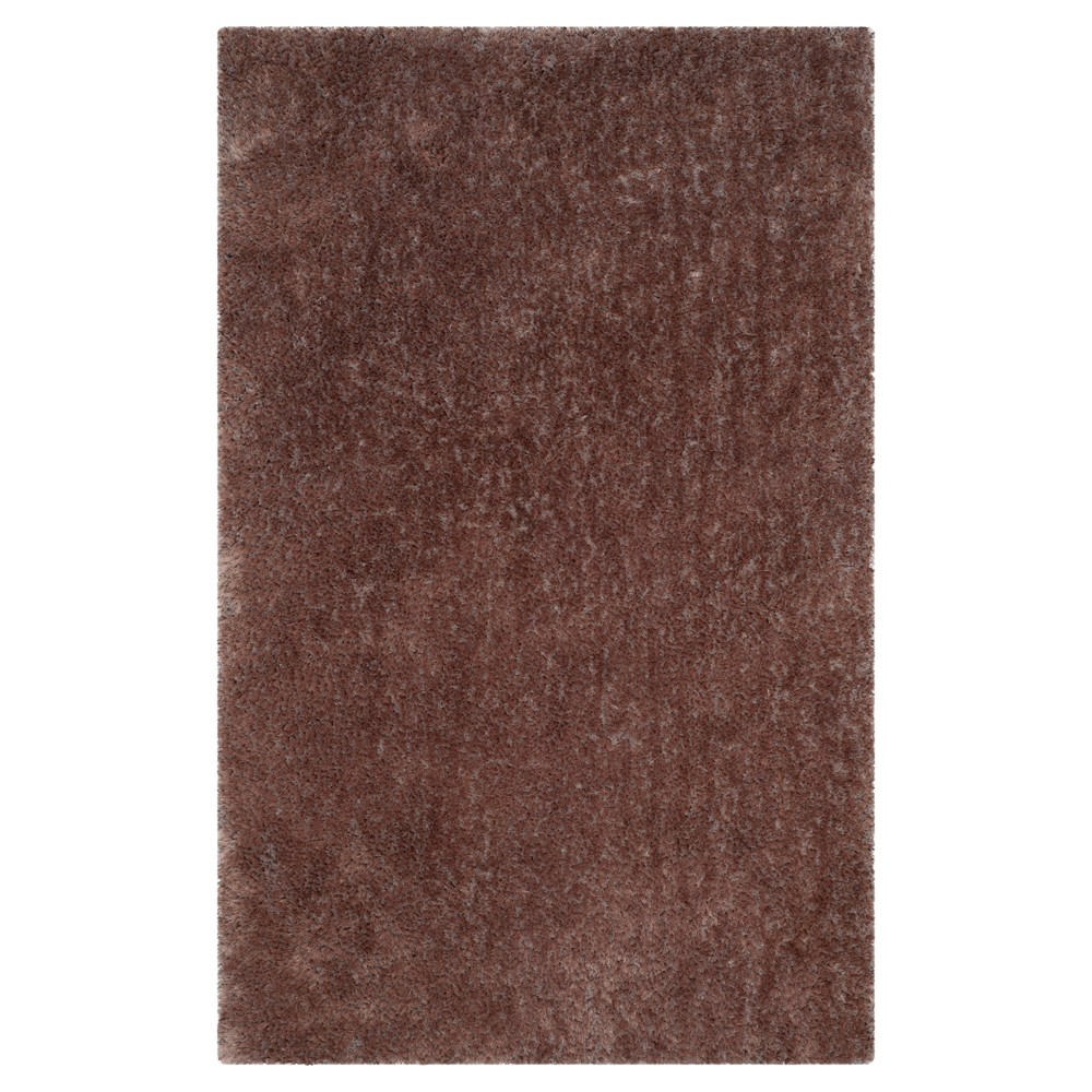 Taupe (Brown) Solid Tufted Area Rug 5'x8' - Safavieh
