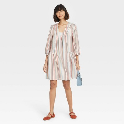 Women's Long Sleeve Shift Dress - Knox Rose™