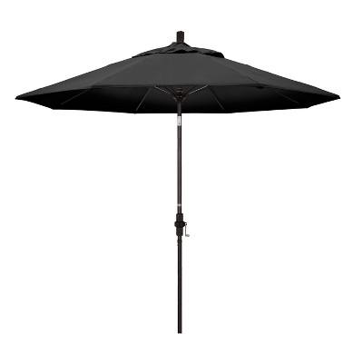 9' Aluminum Collar Tilt Patio Umbrella - California Umbrella