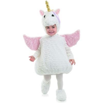 Underwraps Costumes White Unicorn Belly Babies Toddler Costume