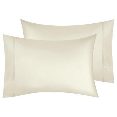 Signature 5-Star Hotel 600 Sateen, 100% Cotton Pillowcase Pair - California Design Den