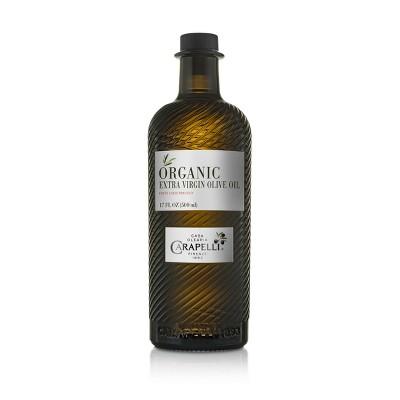Carapelli 100% Organic Extra Virgin Olive Oil - 17oz