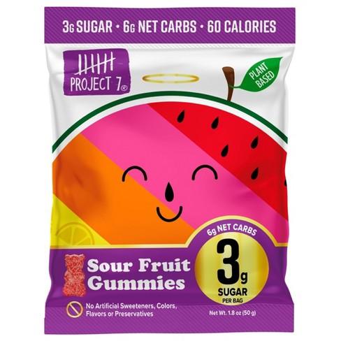 Project 7 Sour Fruit Gummies - 1.8oz/64ct - image 1 of 4