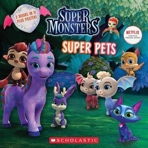 Super Pals / Super Pets : Super Monsters: Flip Book -  (Paperback) - image 1 of 1