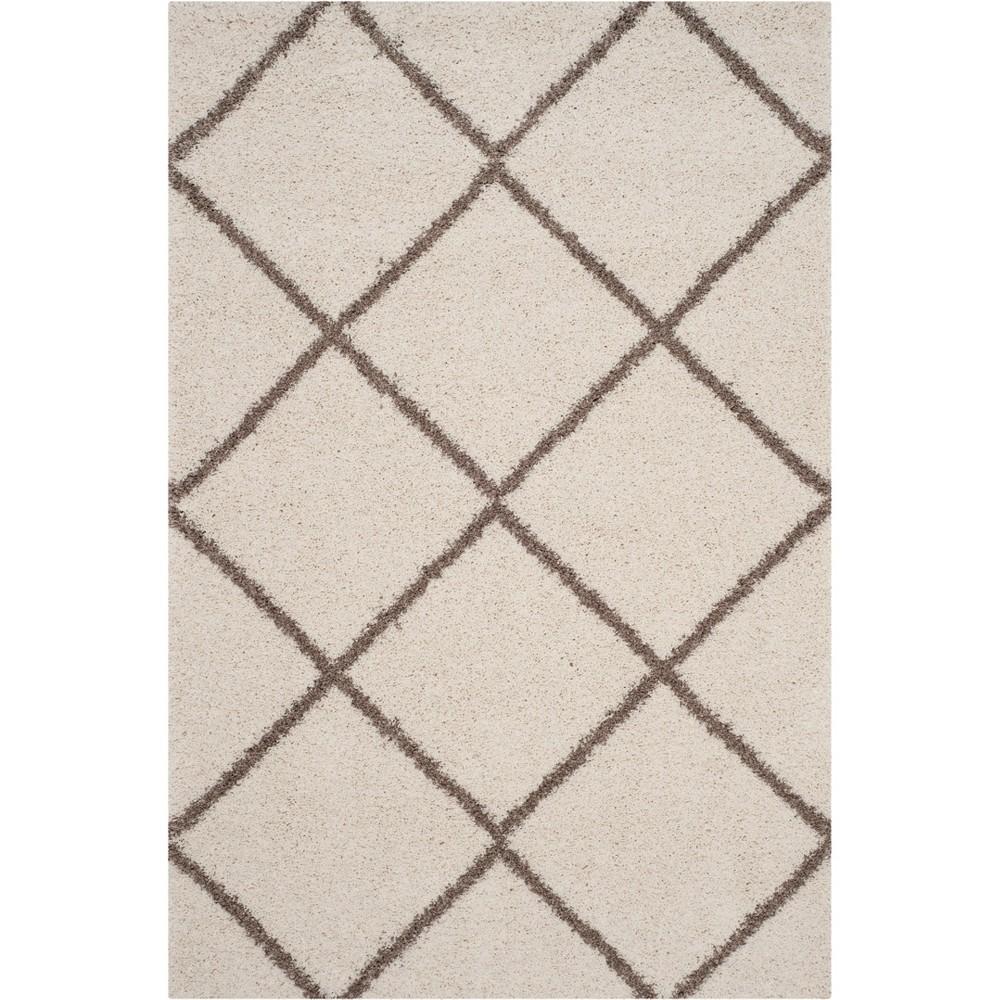 10'X14' Geometric Loomed Area Rug Ivory/Beige - Safavieh