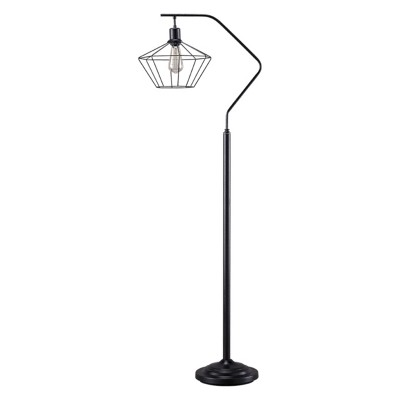 Makeika Metal Floor Lamp Black - Signature Design by Ashley