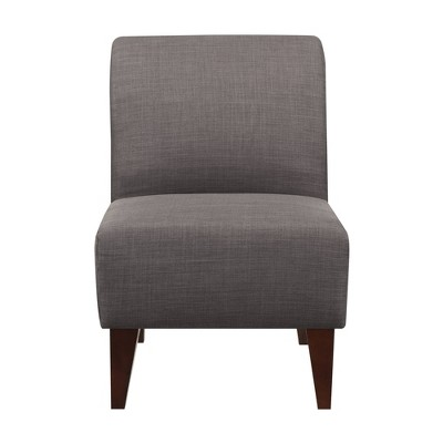 North Accent Slipper Chair Charcoal Black - Picket House Furnishings