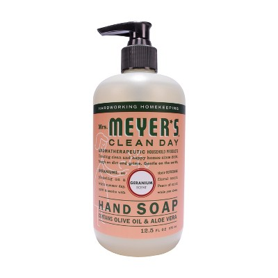 Mrs. Meyer's Geranium Hand Soap - 12.5 fl oz